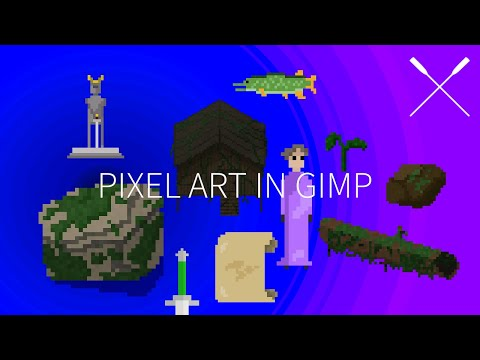 How To Make Pixel Art With Gimp For Beginners - Setup & General Information