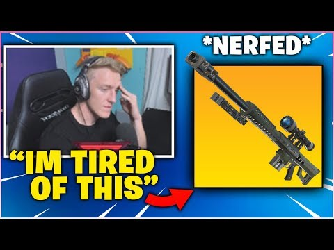 TFUE Gets Frustrated Explains Why The Heavy Sniper Should Be *NERFED* After Getting Killed By A Bot!