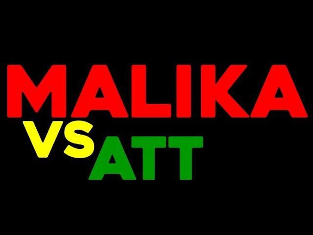 Malika vs att : operation coup de poing