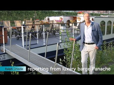 Travel Writer Ralph Grizzle, Reporting from Hotel Barge Panache in Alsace-Lorraine
