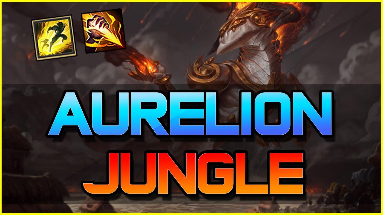 Aurelion Sol Jungle Gameplay  League of Legends
