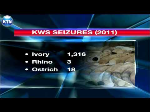 Ivory seized in Mombasa