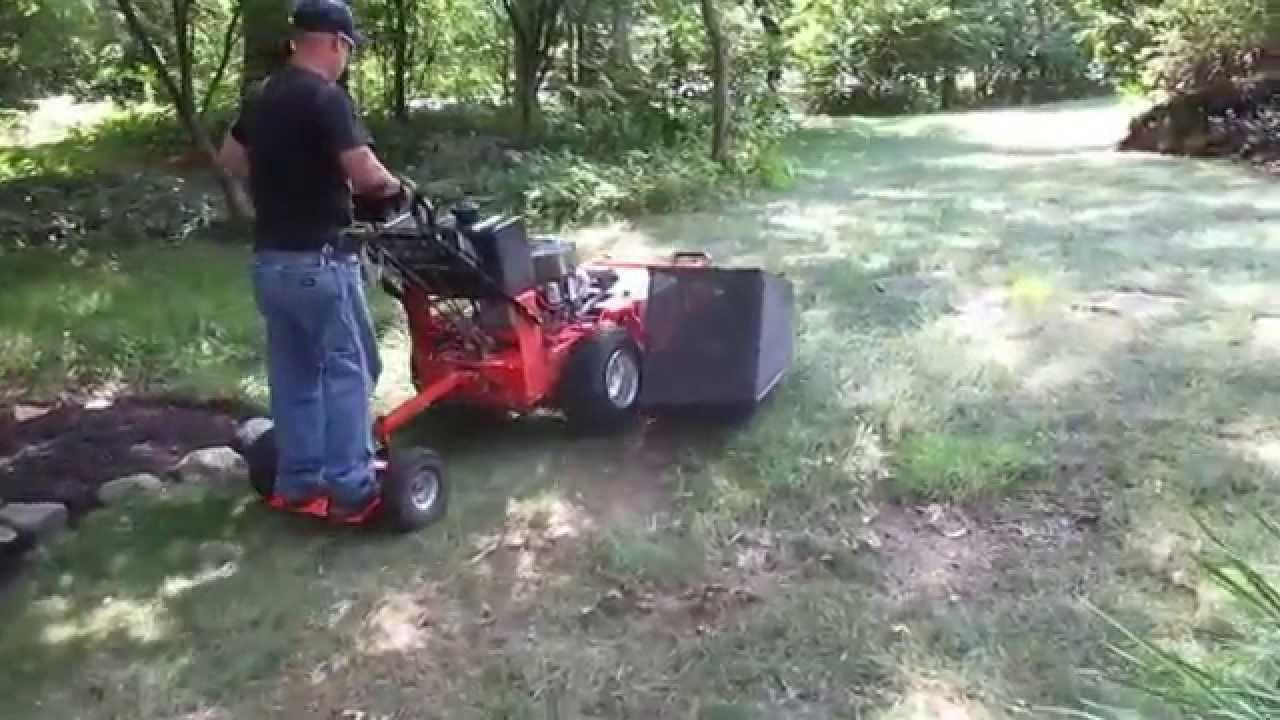 Cullins Service Dek Turf Beast Walk Behind Lawn Mower