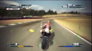 MotoGP 09/10 (PS3) Full multiplayer race (Donington)