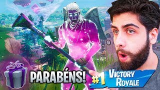 I GOT THE VERY RARE SKIN OF THE GALAXY! -FORTNITE