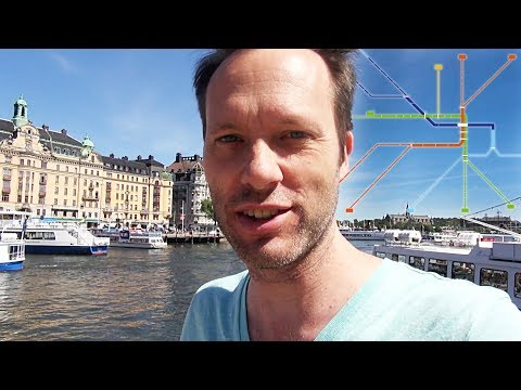 How to travel in Stockholm - Bus, underground, ferry - local traffic