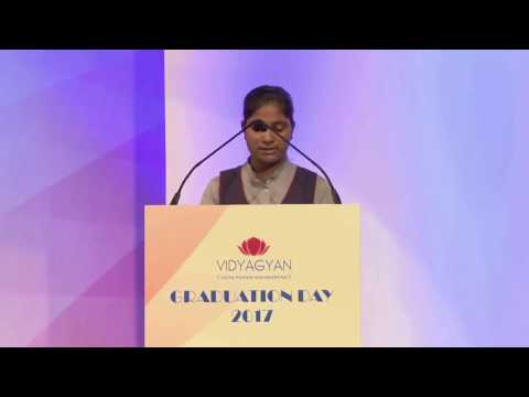 VidyaGyan Graduation Day 2017 | Swati