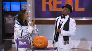 Ne-Yo Plays a Game of Trick or Treat