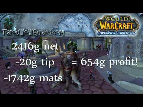 How to Make Gold Easily with Jewelcrafting Part 1 in World of Warcraft Guide!