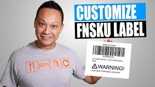 Amazon FBA Barcodes How to Print and Edit UPC & FNSKU Labels Tutorial for Beginners