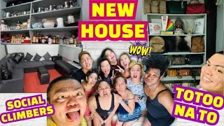 NEW HOUSE SOCIAL CLIMBERS Totoo na to | BRENDA MAGE