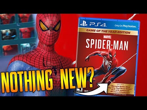 Spider-Man PS4 Game Of The Year: Nothing New?