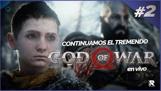 CONTINUAMOS CON EL TREMENDO! GOD OF WAR ( PS4 ) EN VIVO