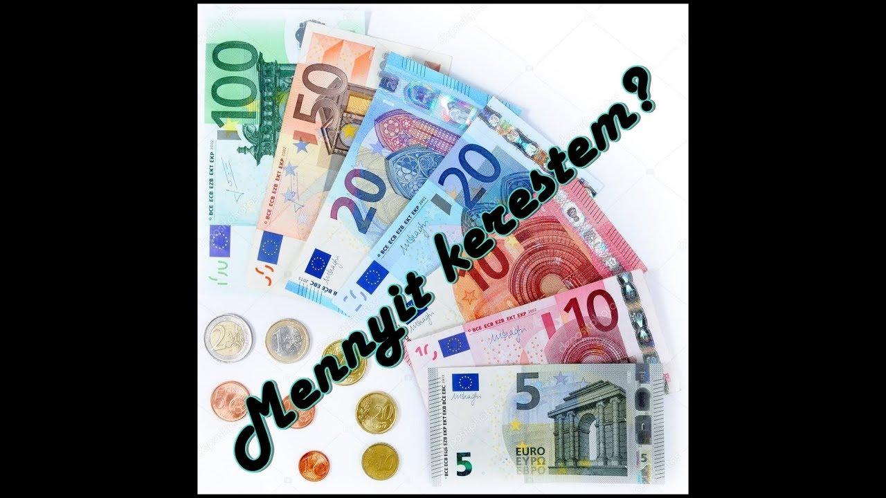 pénzt kell keresnem?
