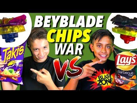 Beyblade Burst As Chip Brands!  Beyblades Battle!