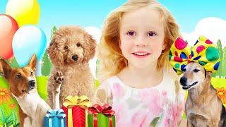 डायना तथा Stacy राजकुमारी  जन्मदिन मनाया