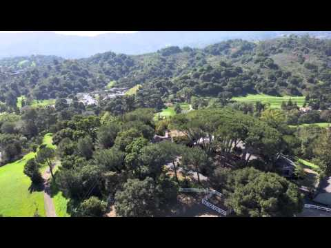 Aerial Video of 22505 Rolling Hills Road Saratoga California asking $4,488,000