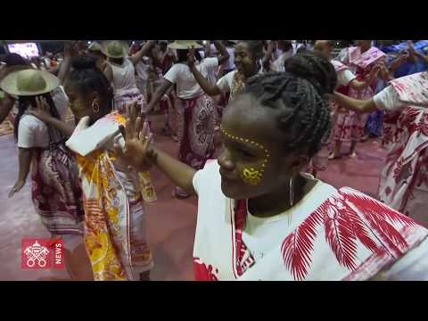 One day in 60 seconds: Pope Francis in Mozambique and Madagascar 07 09 2019