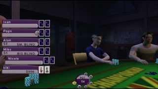 Copie de World Championship Poker 2 Howard Lederer: Gameplay for PSP