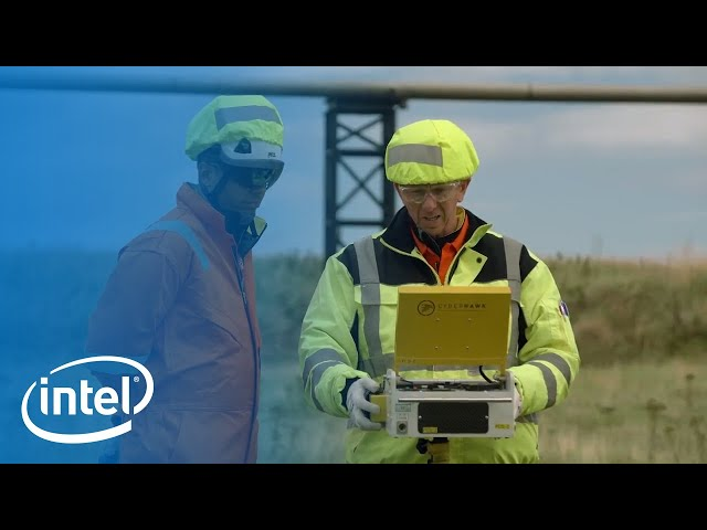 Intel Falcon 8+ Drone transforms inspections conducted in the oil and gas industry | Intel Business