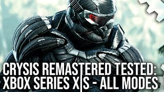 Crysis Remastered Xbox Series X|S Patch - The 60FPS Dream Fulfilled? All Modes Tested!