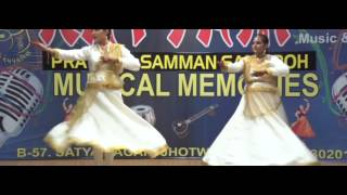 Duet Kathak by Rhythm Students