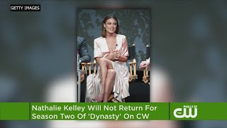CW PHILLY DYNATY'S NATHALIE KELLY NOT RETURNING