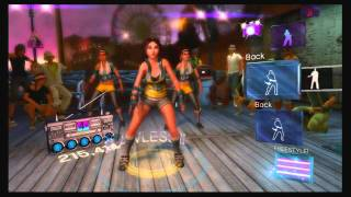 Kinect 3 - Dance Central - Lady Gaga - Poker Face (AKA I Can