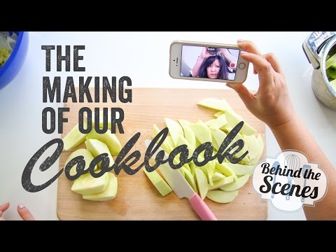 The Making of Our Cookbook - Behind the Scenes (1/12/15)   Chef Julie Yoon