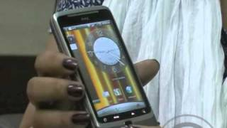 HTC Desire Z Now in India - Video review and features