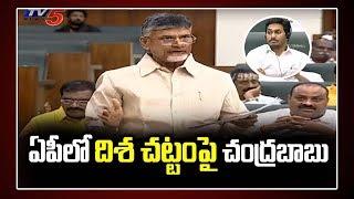 Chandrababu On Disha Act Bill   AP Assembly