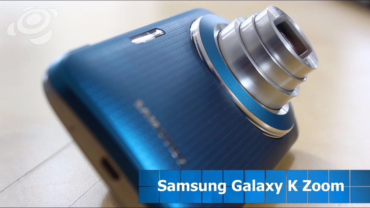 Samsung Galaxy S4 zoom - YouTube