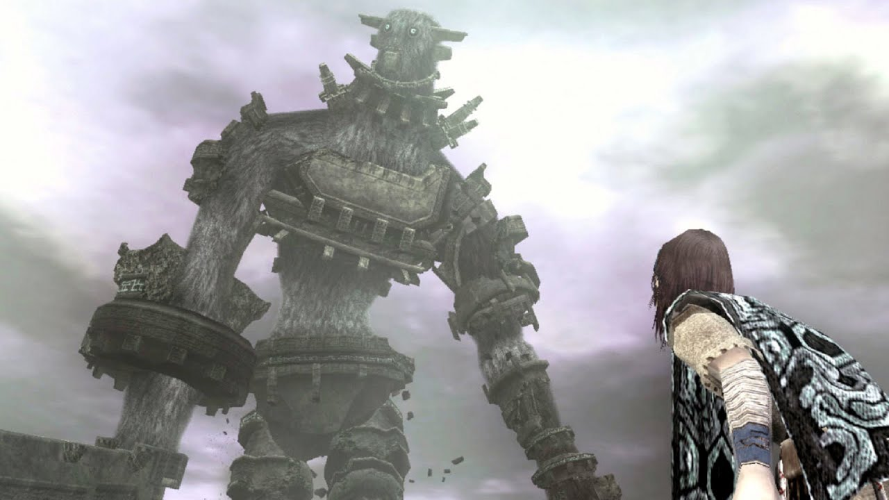 Shadow of the Colossus: Gaius Boss Fight - 3rd Colossus ...