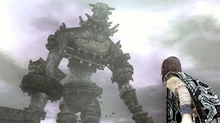 Shadow of the Colossus: Gaius Boss Fight - 3rd Colossus (PS3 1080p)