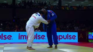 Teddy riner vs kokoro Kageura (BRASILIA GRAND SLAM 2019 )