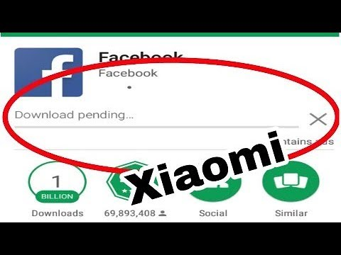 Download pending google play xiaomi | How to Fix Download