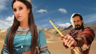 A Terra Prometida, Melina morre ao tentar fugir atingida por uma flecha de Yussuf