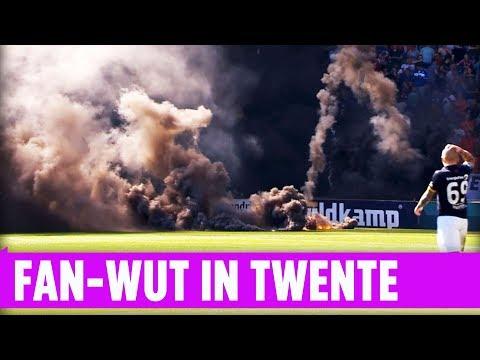 Fan-Wut in Enschede – Fußballspiel zwischen FC Twente und NAC Breda endet in Chaos
