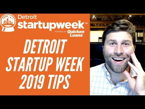 Detroit Startup Week 2019 Info and Overview