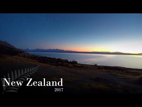 New Zealand 2017 | Travel Video | GoPro Hero | Mapa