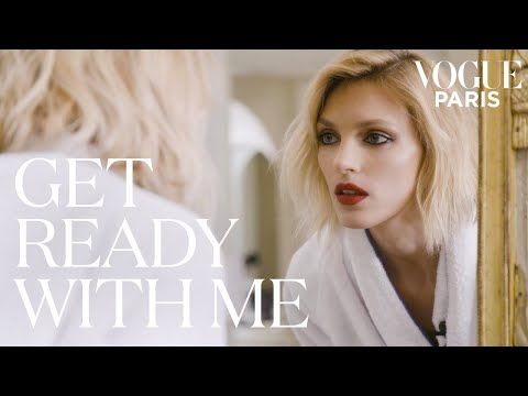 Anja Rubik chooses her outfit for the Cannes red carpet | Get Ready With Me | Vogue Paris
