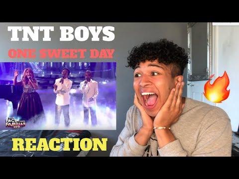 TNT Boys as Mariah Carey & Boyz II Men | One Sweet Day | MY REACTION