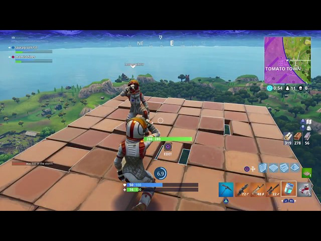 Skybase victory (in fortnite Battle royale!!!)