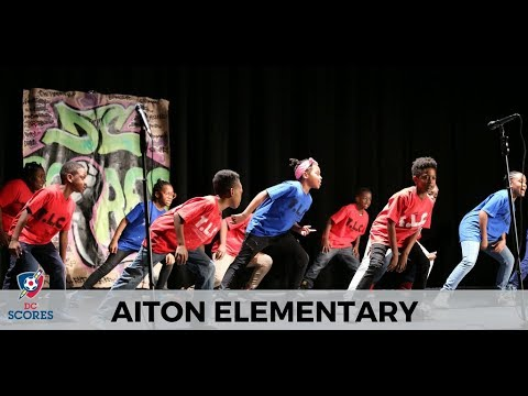 Aiton Elementary School performs at the 2017 Poetry Slam!