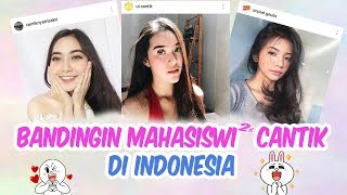 Bandingin Mahasiswi Cantik Indonesia