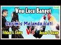 Ayam Duet Menyanyi Gerimis Melanda Hati - Wow Mereka Bagaikan Fildan Feat Lesty