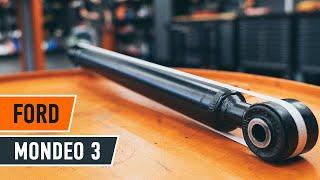 Vea una guía de video sobre cómo reemplazar FORD MONDEO III Saloon (B4Y) Pastilla de freno
