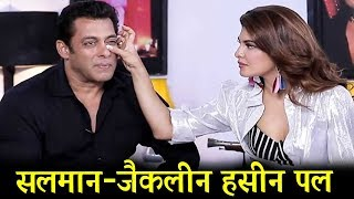 Salman & Jacqueline's Cutest Moment From Baba Ki Chowki