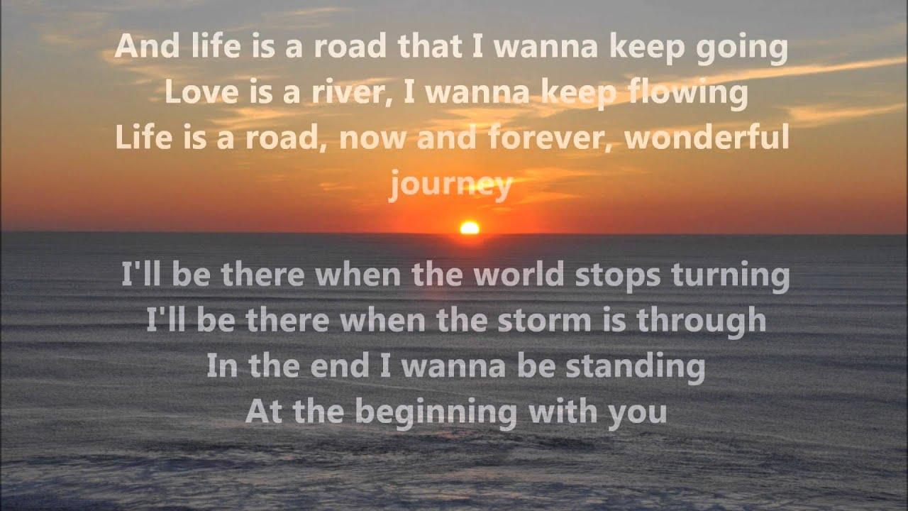 Richard Marx & Donna Lewis - At The Beginning (lyrics ...