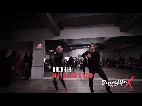 4K   Bachata - Showcase w/ Mila Sheina & Benjamin